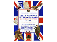 STOKE-ON-TRENT CAMERA CLUB PIE & PEA SUPPER on 29th March 2018 at the RVS Community Centre, Stoke