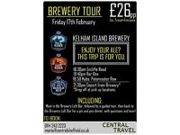 Coach Trip to Brewery! *Voucher Gift*