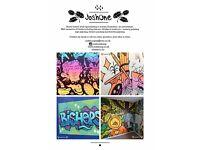 Mural Artist, Graffiti artist, Illustrator and Designer