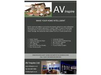 Television & Home Audio Visual Solutions Services - AV Inspire