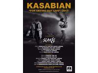 Kasabian Tickets x 2 Standing - Birmingham