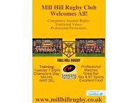 JOIN MILL HILL RUGBY CLUB FOR PRE-SEASON & BEYOND!