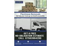 Fleximove Removals - House, office, student & storage moves - Fully Insured Man & Van
