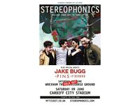 Stereophonics Wrexham racecourse ground Tickets Sat 2nd June Seats ready to collect
