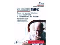 Volunteer Befriender required in the areas of Evesham and Worcester for the RAF Association