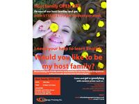 Host family OPEN DAY. 19th May. From 6.30pm to 8.30pm. LANGUAGE TRAINING CO.