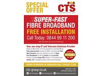 Free Installation of Super-Fast Broadband