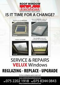 VELUX replacement glass,replacement windows and new installations, 30yrs experence