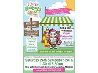 Cheeki Monkeys Pop-up Baby & Children's Market – Milton Keynes (SEPT 2016)