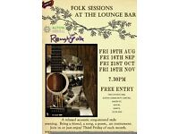 FREE Folk Friday at The Lounge Bar, Alton