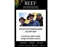 STEVE PATTERSON BAND @ReefBarandKitchen Broadstairs 15th July 9pm