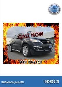 2013 Chevrolet Traverse 1LT, One owner, Moon Roof!