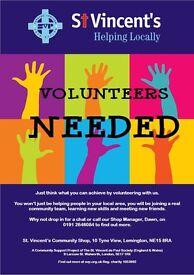 Volunteers Needed at St. Vincent's Community Shop - Lemington