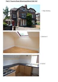 3-bed flat 2nd floor flat near Rock Ferry, Birkenhead