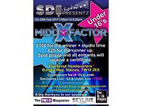 MiddXFactor Singing Competition