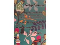 Emily's Services Cleaners and Gardeners