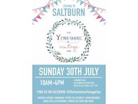 The Yorkshire Vintage Fair comes to Saltburn! Sunday 30th July