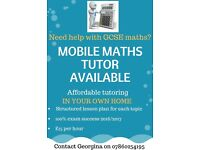 Mobile Maths Tutor - Do you need help with your GCSE Maths?