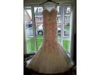 Wedding dress backless Mori Lee Angelina Faccenda sparkle