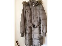 ESPRIT DOWN/FEATHER FILLED WINTER COAT 10/12