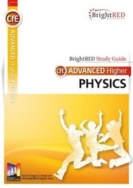Advanced Higher Physics BrightRED Study Guide textbook