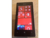 """nokia Lumia 520 phone 5 meg pix camera scratch res glass emaculate condition 4 """" touch screen.en"""