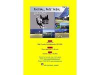 Free football training session