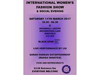 INTERNATIONAL WOMEN'S FASHION SHOW & SOCIAL EVENING