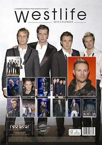 SALE-SALE-LARGE-WALL-CALENDAR-2015-OF-WESTLIFE-BY-RED-STAR