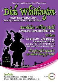 Dick Whittington Pantomine - Fun for adults and children alike!