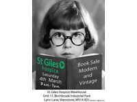 Book Sale Modern and Vintage