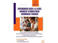 GCSE and A Level Business Tutor