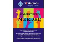Volunteers Needed at St. Vincent's Community Shop - Houghton le Spring