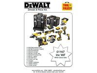 Dewalt 8 Piece Kit.