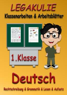 Deutsch 1.Klasse Arbeitsblätter Übungen PDF Grundschule in Bayern ...