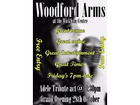 Grand opening of Woodford Arms