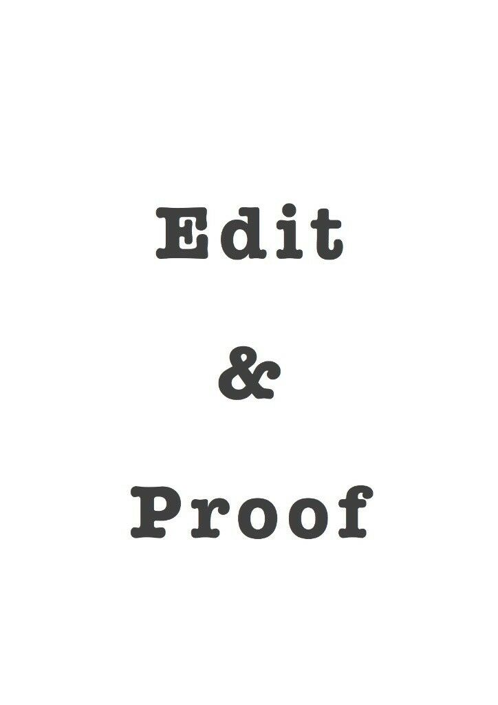 *Proof-reading * Editing * Tutoring * Project Planning