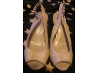 BHS wedding shoes size 5