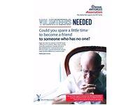 Befriender Volunteers required in Bridgend Area (Bridgend & Maesteg) for the RAF Assocaiation