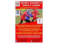 Girls & Ladies Football in Stevenage
