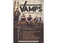 X1 The Vamps Wowpit Ticket for Newcastle 2017