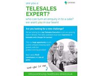 *NEW* Telesales Executive - Immediate Start