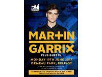 4 Martin garrix tickets @ belsonic