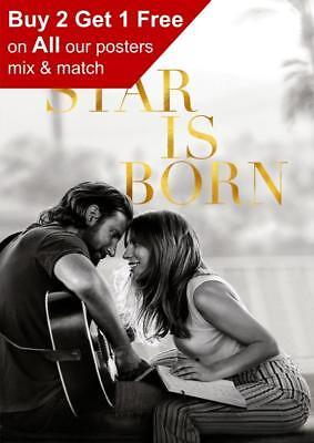 A Star Is Born 2018 Teaser Poster A5 A4 A3 A2 A1