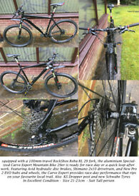 Specialised Carve Mountain Bike for sale