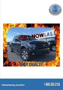 2013 Ford F-150 FX4, Leather, Moonroof, One owner!!