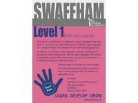 British Sign Language Level One
