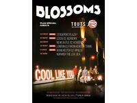 4x Blossoms standing tickets, O2 Academy Leeds, Monday 7th May 2018