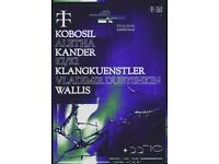 Teletech: 22nd October - Kobosil, KlangKuenstler, KI/KI, Vladimir Dubyshkin, Aletha, Kander & Wallis
