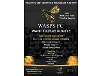 Recruiting Rugby players at WaspsFC London